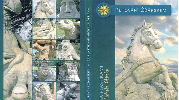 Všech deset plastik, které žďárský umělec v okolí Žďáru vytvořil, je vyobrazeno na pohlednicích. Sadu lze pořídit za 45 korun například v Turistickém informačním centru v budově žďárské Staré radnice.