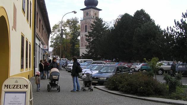V Novém Městě na Moravě.