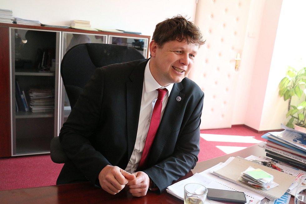 Generální ředitel Žďasu Pavel Cesnek.