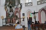 Velikonoční neděli řada lidí využila k návštěvě památky UNESCO – kostela svatého Jana Nepomuckého na Zelené hoře.