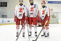 V prosinci ještě oblékali žďárský dres. Nyní už Martina Kauta, Ondřeje Trejbala a Martina Nečase rozvíjí pro reprezentaci Pardubice a Kometa Brno.