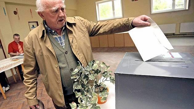 Na Vysočině přišlo volit 65,68 procenta oprávněných voličů.