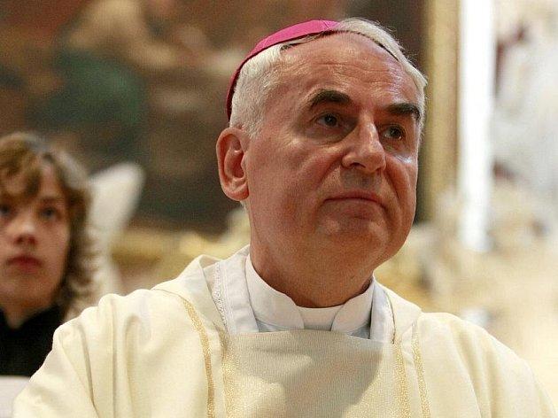 Biskup brněnské diecéze Vojtěch Cikrle.