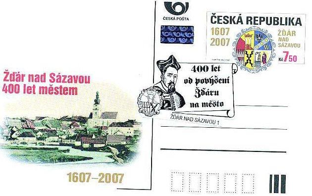 Příležitostné obálky a dopisnice. Speciální korespondenční lístek lze koupit na centrální poště již dnes.