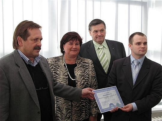 Zdeněk Kadlec (vlevo).