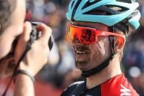 Závod Světového poháru horských kol v cross country.