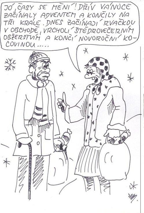 Zdarsky Denik Vanocni Kreslene Vtipy Fotogalerie