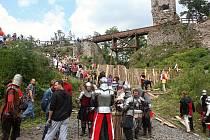 Zubštejn láká turisty i díky pravidelným letním akcím.