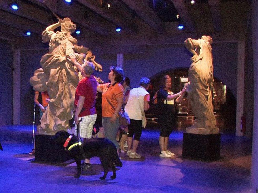 Ve žďárském zámku zavedli speciální prohlídky uzpůsobené pro nevidomé návštěvníky. Prohlídky jsou na objednání a stojí 50 korun na osobu (pro nevidomého i jeho průvodce). Do celého areálu smějí také vodicí (i ostatní) psi.