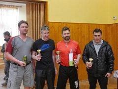 Velikonoční turnaj ve stolním tenise v Bohdalci ovládl Stanislav Maša.