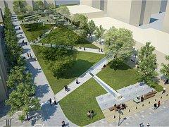 Brodská radnice veřejnosti představila druhou etapu revitalizace Smetanova náměstí.