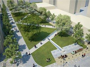 Vodní prvky, lavičky nebo model města, taková bude tvář Smetanova náměstí