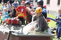 Dobrovolní hasiči nabízí dětem jednu z možností, kterak spojit sportovní vyžití se zábavou i poučením. Novoměstský pohár Soptíků se letos koná už potřetí.