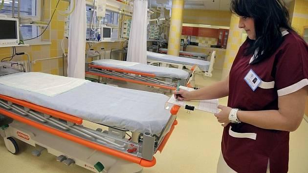 Urgentní příjem zhruba za dvacet milionů korun byl slavnostně představen v novoměstské nemocnici.