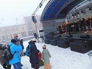 Na novoměstském Vratislavově náměstí zahájili advent.