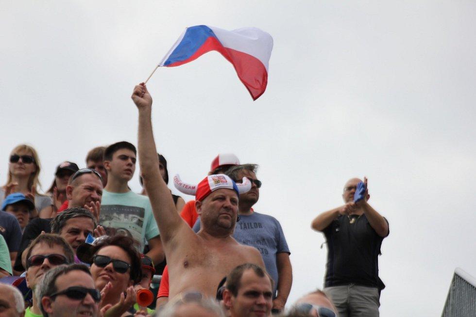 Fanoušci ve Vysočina Areně
