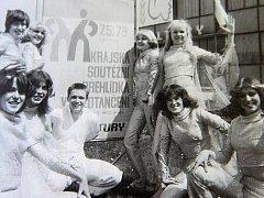 Taneční skupina Sagitta na jednom ze svých vystoupení.