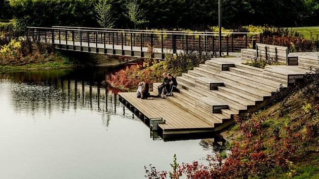 Vítězným projektem participativního rozpočtu je molo u Černého rybníka.