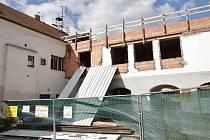 Stavba nového multifunkčního domu ve Velké Bíteši.