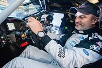 Tomáš Ouředníček ve svém závodním speciálu Ford Ranger pro Rallye Dakar 2018.