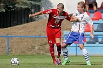 O třetí a čtvrtý gól se postaral Eduard Smejkal (vlevo), který je překvapivě nejlepším střelcem týmu.