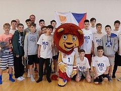 Starší minižáci Basketbalového klubu Vlci Žďár nad Sázavou skončili na Národním finále pro dvanáct nejlepších týmů v zemi jedenáctí.