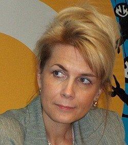 Jana Sladká. Ředitelka občanského sdružení Anabell, zabývajícího se anorexií a bulimií.