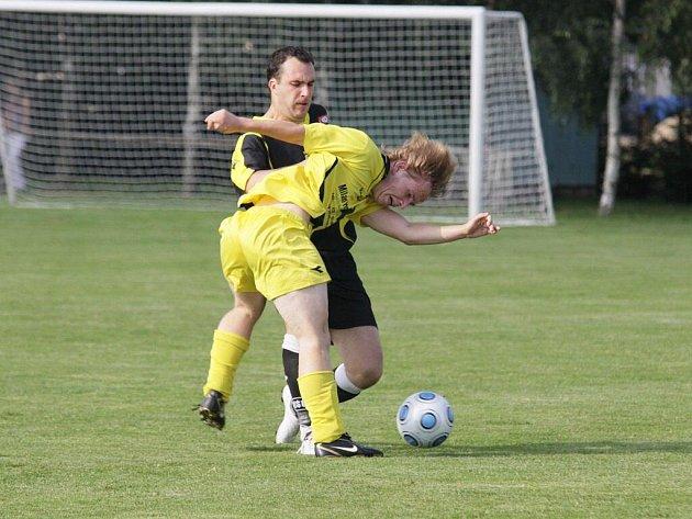 Fotbalisté Bohdalova si zápas v Koutech prohráli už v první půli.