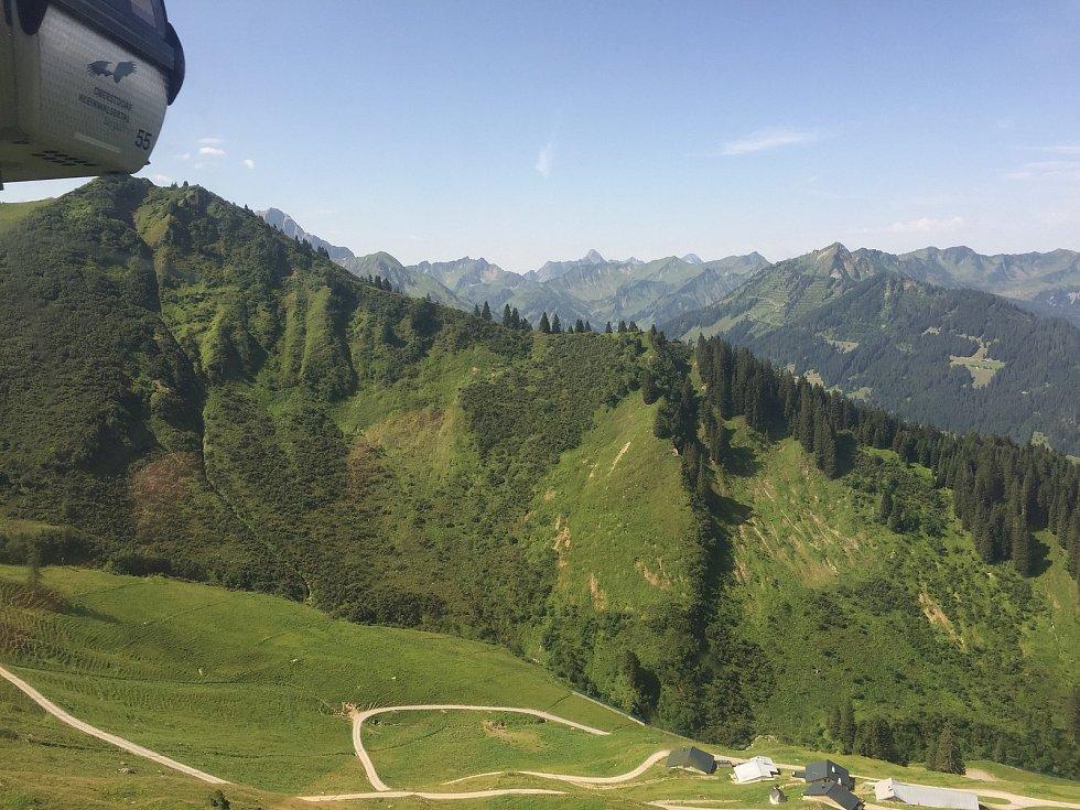 Lanovkou na vrchol hory Hammerspitze