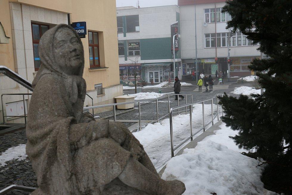 Julius Pelikán: Děvčátko z Vysočiny.