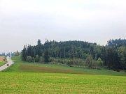 Část lokality zvané Kraví hora.