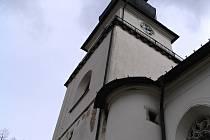 Věž kostela svatého Prokopa.