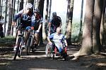 Do novoměstského sportovního areálu míří v letní sezoně cyklisté i vozíčkáři.