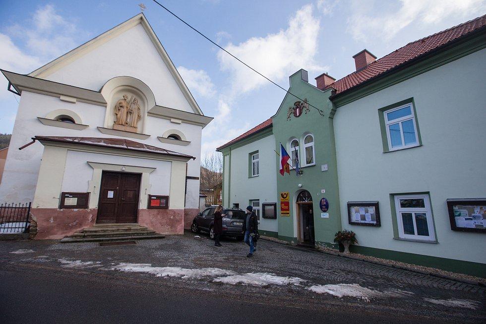 Úřad městyse Stěpánov nad Svratkou.