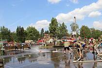 Ve Svratce se už pojedenácté utkali v hasičském fotbalu.