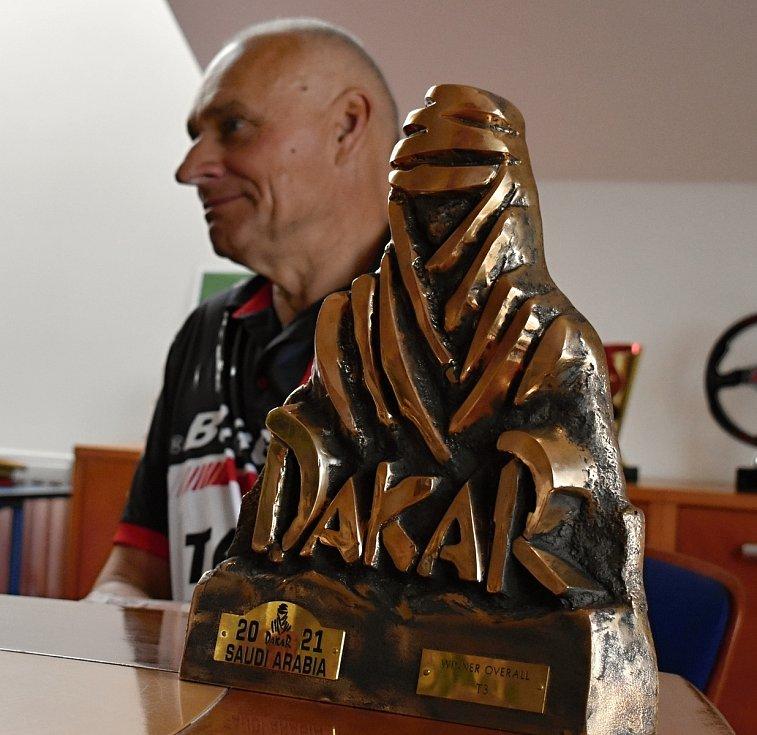 Vítěz Rallye Dakar Josef Macháček.