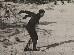 Alena Albrechtová vyhrála na lyžích nejeden závod.