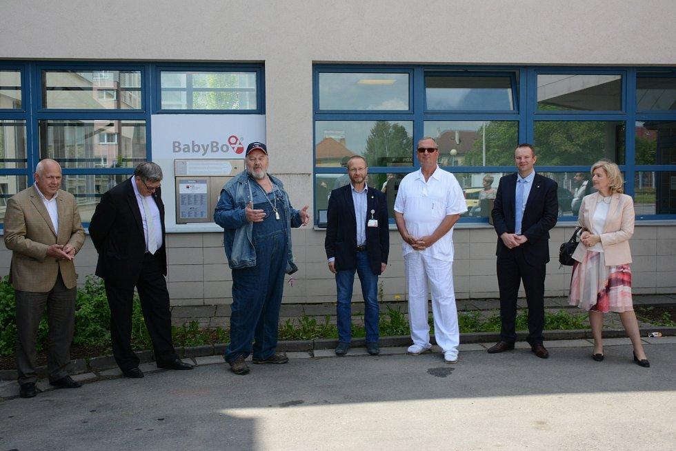 Babybox byl v jihlavské nemocnici otevřen 19. září 2009.