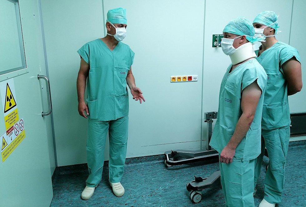 Kemp mediků, který pořádá Nemocnice Pelhřimov. Foto: se souhlasem nemocnice