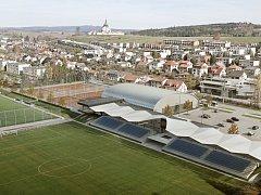 Sportovní zóna na Bouchalkách.