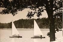 Takto vypadal Medlov ve třicátých letech minulého století. Foto: Archiv rodiny Stehlíkovy