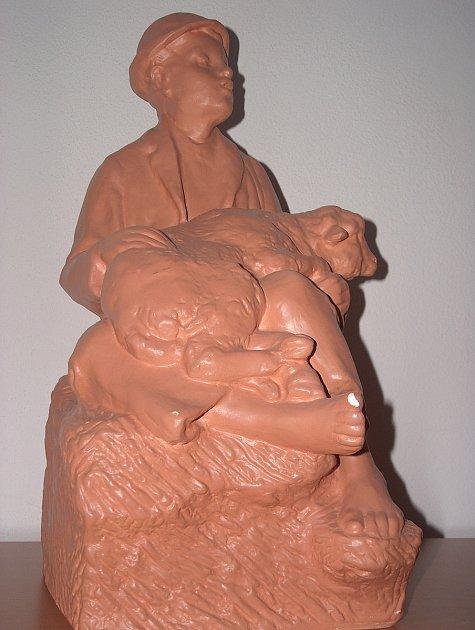 Štursova socha Píseň hor.