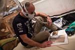 Kyslíková příprava automobilového závodníka Tomáše Ouředníčka před odjezdem na Rallye Dakar.