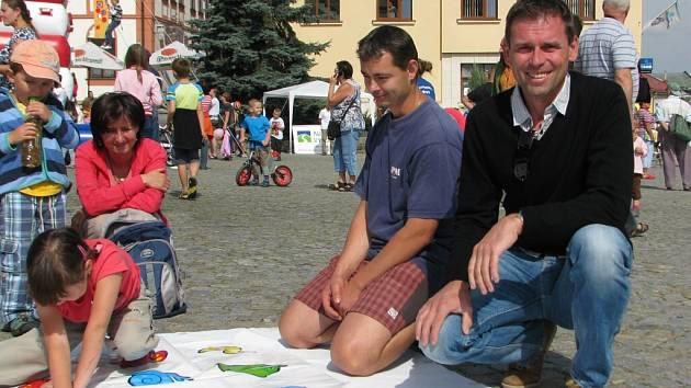 Podle cyklisty Jána Svorady je třeba děti přitáhnout ke sportu zábavnou formou.
