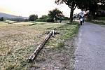 Událost se stala na spojovací komunikaci mezi obcemi Rokytno a Vlachovice u Nového Města na Moravě.