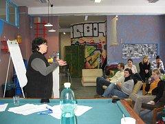 Nemalým přínosem semináře, který vznikl díky zakázce Ponorky – centra prevence, bylo, že se ho účastnili pracovníci čtyř různých zařízení v okrese Žďár nad Sázavou.