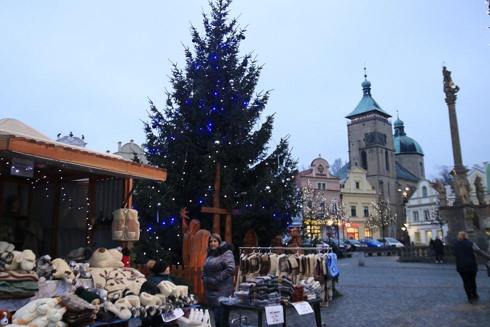 Vánoční trhy 2019 v Havlíčkově Brodě.