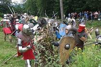 Bitva o Zubštejn v roce 2009.