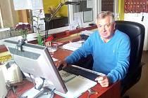 Prezident nymburského hokejového klubu Tomáš Netík
