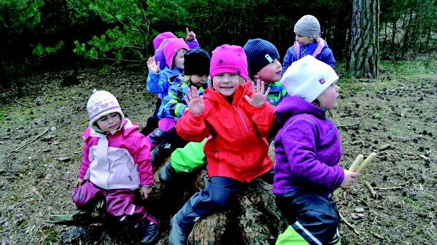 Lesní školka se o svoji existenci už nemusí bát